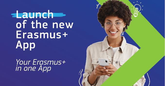 Η νέα εφαρμογή του Erasmus+ είναι Online!