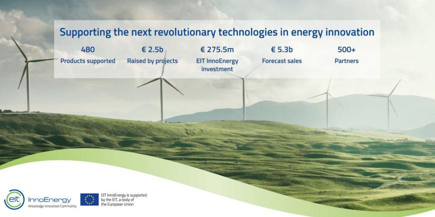 Ευκαιρίες χρηματοδότησης από το Ευρωπαϊκό Ινστιτούτο Καινοτομίας και Τεχνολογίας στον τομέα της ενέργειας (EIT InnoEnergy)