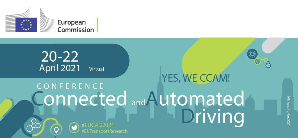 3ο Ευρωπαϊκό Συνέδριο για τη Συνδεδεμένη και Αυτοματοποιημένη Οδήγηση (EUCAD 2021)