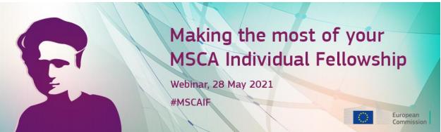 """Διαδικτυακή εκδήλωση """"Making the most of your MSCA Individual Fellowship"""""""