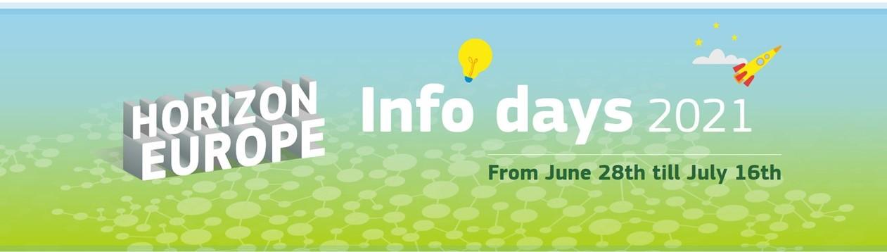 Ενημερωτικές ημερίδες της ΕΕ για τον Ορίζοντα Ευρώπη από 28 Ιουνίου έως 16 Ιουλίου