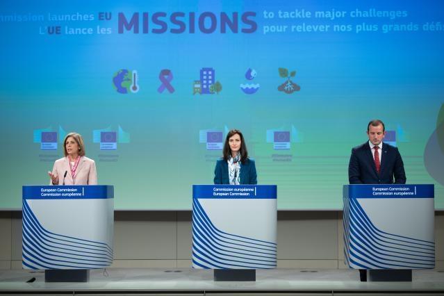 Η Ευρωπαϊκή Επιτροπή προχωρά στην επίσημη έναρξη των Αποστολών Έρευνας και Καινοτομίας για την αντιμετώπιση σημαντικών παγκόσμιων προκλήσεων